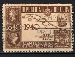 CUBA - 1940 - CENTENARIO DEL PRIMO FRANCOBOLLO - USATO - Posta Aerea