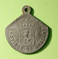"""Jeton De Taxe Sur Les Chiens """"Année 1925 - Province De Brabant"""" Médaille De Chien - Professionnels / De Société"""
