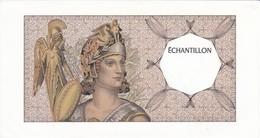 BILLETE DE FRANCIA DE ECHANTILLON - PRUEBA  (BANKNOTE) SIN CIRCULAR-UNCIRCULATED - Ficción & Especímenes