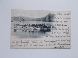 CPA 1904 Lago Maggiore, Isola Bella -aan Sander PIERRON, Auteur, Journalist, Kuntcriticus, - Ecrivains