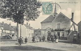 MONTILLOT PLACE DE L'EGLISE 89 - France