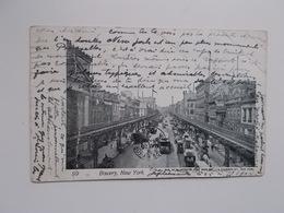 CPA 1904 Bowery New York -aan Sander PIERRON, Auteur, Journalist, Kuntcriticus, - Ecrivains