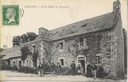 GOULVEN  Ferme Modèle De Coz Castel - Altri Comuni