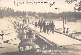 AVIGNON - Manoeuvres De Pontage Du 7e Génie - 19e Bataillon - Avignon