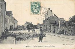 NOYERS AVENUE DE LA GARE VIEILLES MAISONS 89 - Noyers Sur Serein