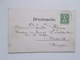 CPA 1901 Panorama Vom LAUBERHORN- TRIPTIEK -aan Sander PIERRON, Auteur, Journalist, Kuntcriticus, - Ecrivains
