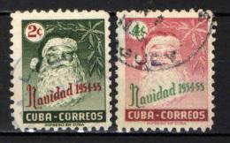CUBA - 1954 - NATALE - BABBO NATALE - SANTA CLAUS - USATI - Cuba
