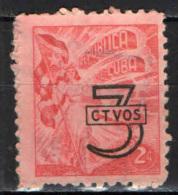 CUBA - 1953 - SIMBOLO DELLA LIBERTA' CON SOVRASTAMPA - OVERPRINTED - USATO - Cuba