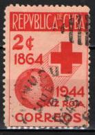 CUBA - 1946 - 80° ANNIVERSARIO DELLA CROCE ROSSA - USATO - Cuba