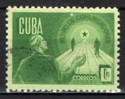 CUBA - 1943 - SICUREZZA PENSIONISTICA - USATO - Cuba