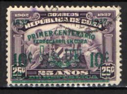 CUBA - 1937 - CENTENARIO DELLE FERROVIE DI CUBA - USATO - Cuba