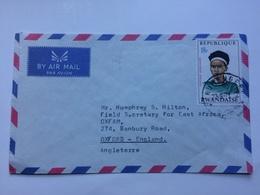 RWANDA - 1971 Air Mail Cover Ruhengeri To Oxford England - Airpost