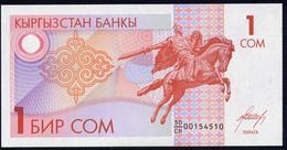 Kirghizistan (KYRGYZSTAN) : 1 Som - P4 - 1993- UNC - Kirghizistan