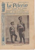 LE PELERIN 1915 26 Septembre Le Tsar Nicolas II Et Son Fils Alexis, Les Sénégalais, Carte Du Front Français ... - 1900 - 1949