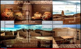 Ref. MX-2898 MEXICO 2014 ARCHAEOLOGY, PAQUIME, CERAMICS,, S/S MNH 6V Sc# 2898 - Archäologie