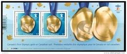 Canada (Scott No.2371 - Olympiques D'hiver / 2010 / Winter Olympics) (**) BF / SS - 1952-.... Règne D'Elizabeth II