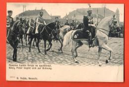 FKD-16  King Peter ), Zur Kronung, Au Couronnement. Pionier. - Servië