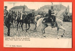 FKD-16  King Peter ), Zur Kronung, Au Couronnement. Pionier. - Serbia