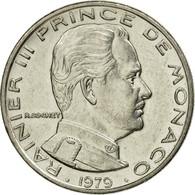 Monnaie, Monaco, Rainier III, Franc, 1979, TTB, Nickel, Gadoury:MC 150, KM:140 - Monaco