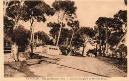 Carqueiranne - Le Paradis - Avenue Georges V Et Maréchal Pétain - Carqueiranne