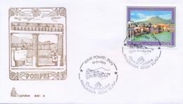 Italy 1989 FDC Pompei - Archeologia