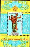 72655) Indonesia Block 16  1970 Turismo-MNH** - Indonesia