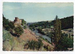 CHOUVIGNY --1959 --Gorges De Chouvigny --Chateau De Chouvigny --cachet  CUNLHAT - 63 - France