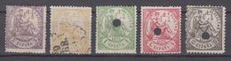 SPAIN 1874 - Justice - 1873-74 Reggenza