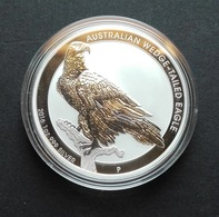Australia, Wedge Tailed Eagle 1 Oz 2016 Silver 999 Pure - 1 Oncia Argento Puro Bullion Perth Min - Australia