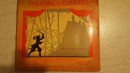RARE  1936 THEATRE D'OMBRES  CHINOISES DU PERE CASTOR  ALBUM  COMPLET 2 DECOUPES  EN 1ere PAGE  INSEREES DANS LE THEATRE - Books, Magazines, Comics