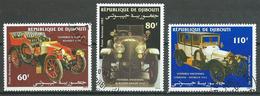 Djibouti Poste Aérienne YT N°190/192 Voitures Anciennes Oblitéré ° - Djibouti (1977-...)