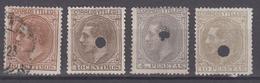 SPAIN 1879 - King Alfonso XII - 1875-1882 Königreich: Alphonse XII.