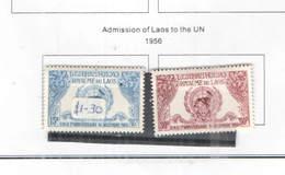 Laos PA 1956 Ammissione Onu Scott.C 22+23++See Scan; - Laos