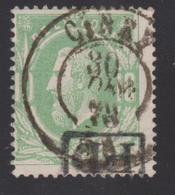 30  - D.C. CINEY  1873 + GRIFFE  PD Encadrée - 1869-1883 Léopold II