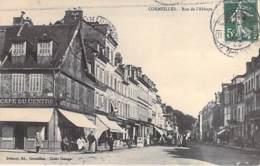 27 - CORMEILLES : Rue De L'Abbaye Et Le CAFE Du CENTRE - CPA - Eure - France