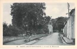 18 - SAINT AMAND MONTROND : Avenue De Montrond - CPA - Cher ( Berry ) - Saint-Amand-Montrond