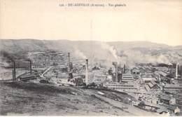 INDUSTRIE Usine - 12 - DECAZEVILLE Vue Générale Et Les Usines - CPA - Aveyron - Entreprise Fabrik Factory Industry - Industrie