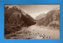 Valle D'Aosta - Cogne - La VALNONTEY E Il GRAN PARADISO-. VIAGGIATA 1923 Vedi Descrizione - Altre Città