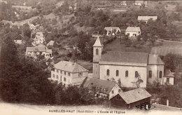 AUXELLES-HAUT  -  L' Ecole Et L' Eglise - France
