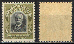 CUBA - 1910 - CALIXTO GARCIA -  MNH - Cuba