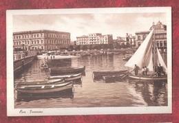 ITALY BARI PANORAMA FISHING BOAT BOATS ED CAV G LOBUONO BARI UNUSED - Bari