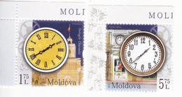 2018 , MOLDOVA  MOLDAVIE MOLDAWIEN , Horologes Of Chișinău , Set , MNH - Moldavie