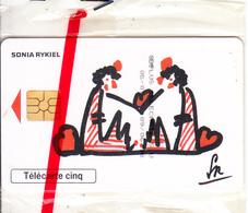 FRANCE - SIDA Info Service/Sonia Rykiel, Tirage 25900, 06/98, Mint - 5 Unidades