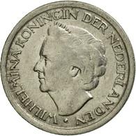 Monnaie, Pays-Bas, Wilhelmina I, 25 Cents, 1948, Utrecht, TTB, Nickel, KM:178 - [ 3] 1815-… : Kingdom Of The Netherlands