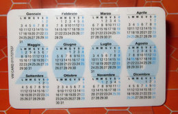 SOLVAY PHARMA 2000  CALENDARIO TASCABILE PLASTIFICATO - Calendari