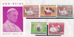 Papst Paul VI.; UNO Reise - Paraguay