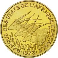 Monnaie, États De L'Afrique Centrale, 5 Francs, 1973, Paris, ESSAI, FDC - Cameroun