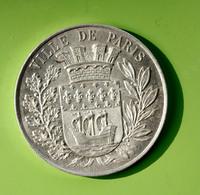 """Beau Jeton Publicitaire """"Aluminium Pur / Usine De Froges (Isère) / Ville De Paris - Monetary / Of Necessity"""