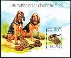 Togo,les Truffes Et Les Chiens Truffierss, 2500F, 2013- Mint NH - Chiens