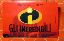 GLI INCREDIBILI IDENTITY CARD FLASH PARR 3D OLOGRAFICA - Disney
